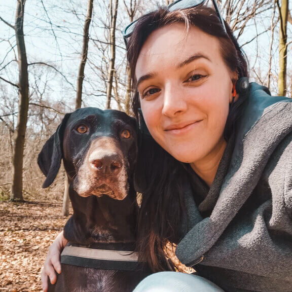 kalkoen en veenbessen hondenbrokken